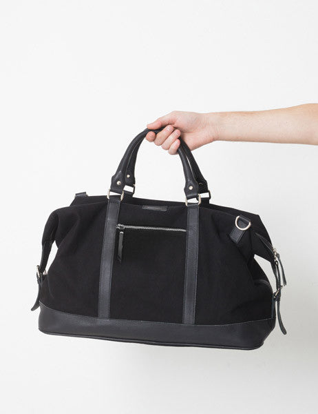 Sandqvist Jordan Weekend Bag - Black