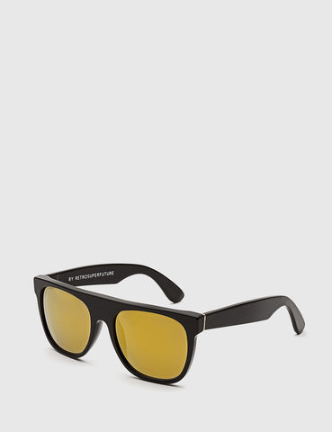 Super Flat Top Sunglasses - Black 24K