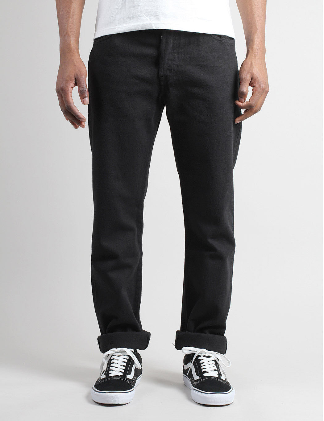 Levis 501 Original Fit Jeans - Black