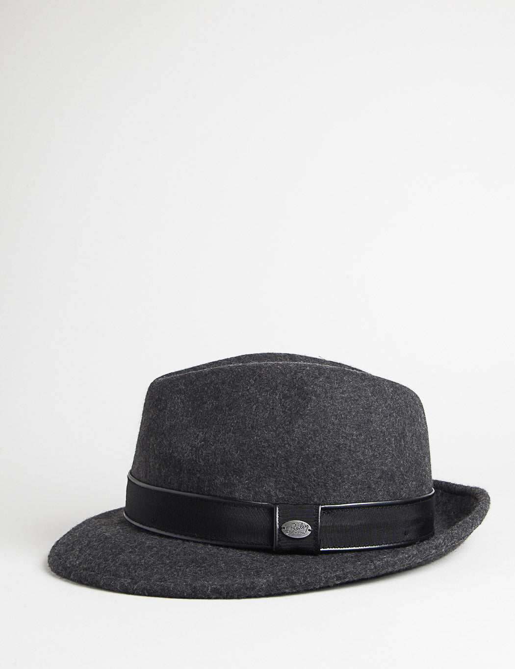 Bailey Donal Fedora Hat - Black Mix