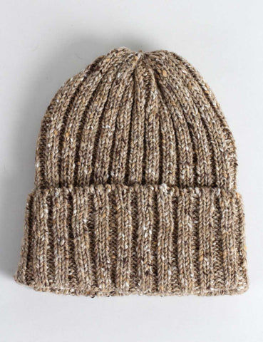 Highland 2000 Donegal Beanie Hat - Oatmeal