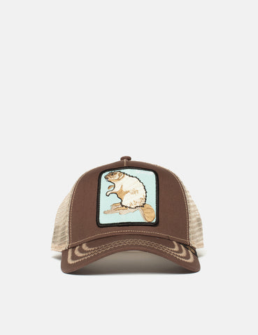 Goorin Beaver Trucker Cap - Brown