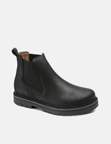 Birkenstock Stalon Boot (Regular, Nubuck Leather) - Black
