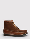 Grenson Hobson Moccasin Boot - Tan