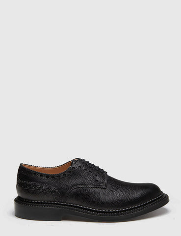 Grenson x Neighborhood William Grain Brogue - Black