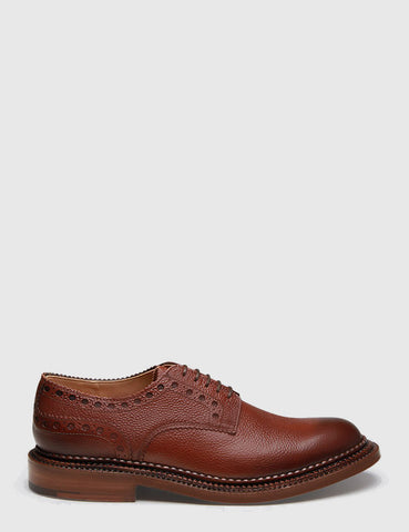 Grenson x Neighborhood William Grain Brogue - Dark Brown
