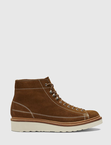Grenson Andy Suede Monkey Boot - Snuff Brown