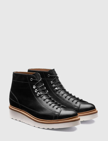 Grenson Andy Leather Monkey Boot - Black
