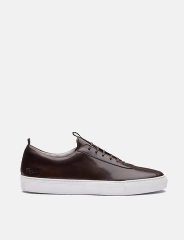 Grenson Sneakers 1 (Hand Painted) - Brown