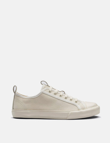 Grenson Low Top Sneakers (Canvas) - Ecru