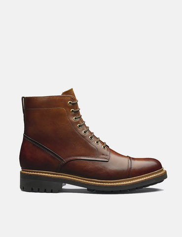 Grenson Joseph Boot (Hand Painted) - Tan