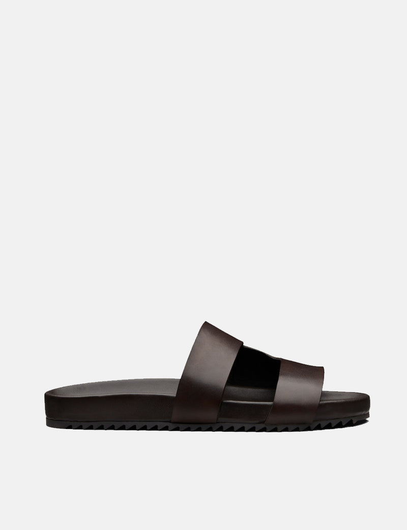 Grenson Chadwick Sandal (Hand Painted) - Brown