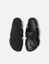 Grenson Wiley Sandal (Leather) - Black