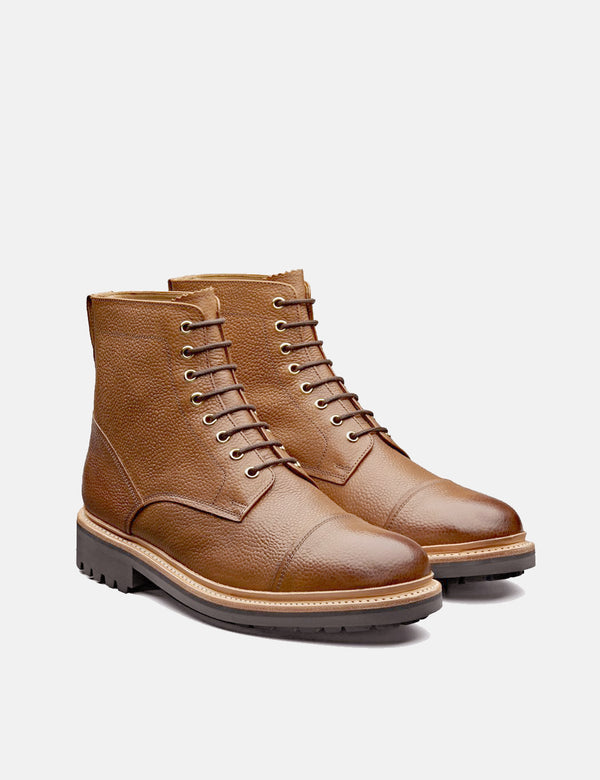 Grenson Joseph Boot (Grain) - Tan