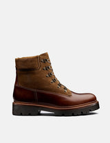 Grenson Rutherford Boot - Chestnut Brown