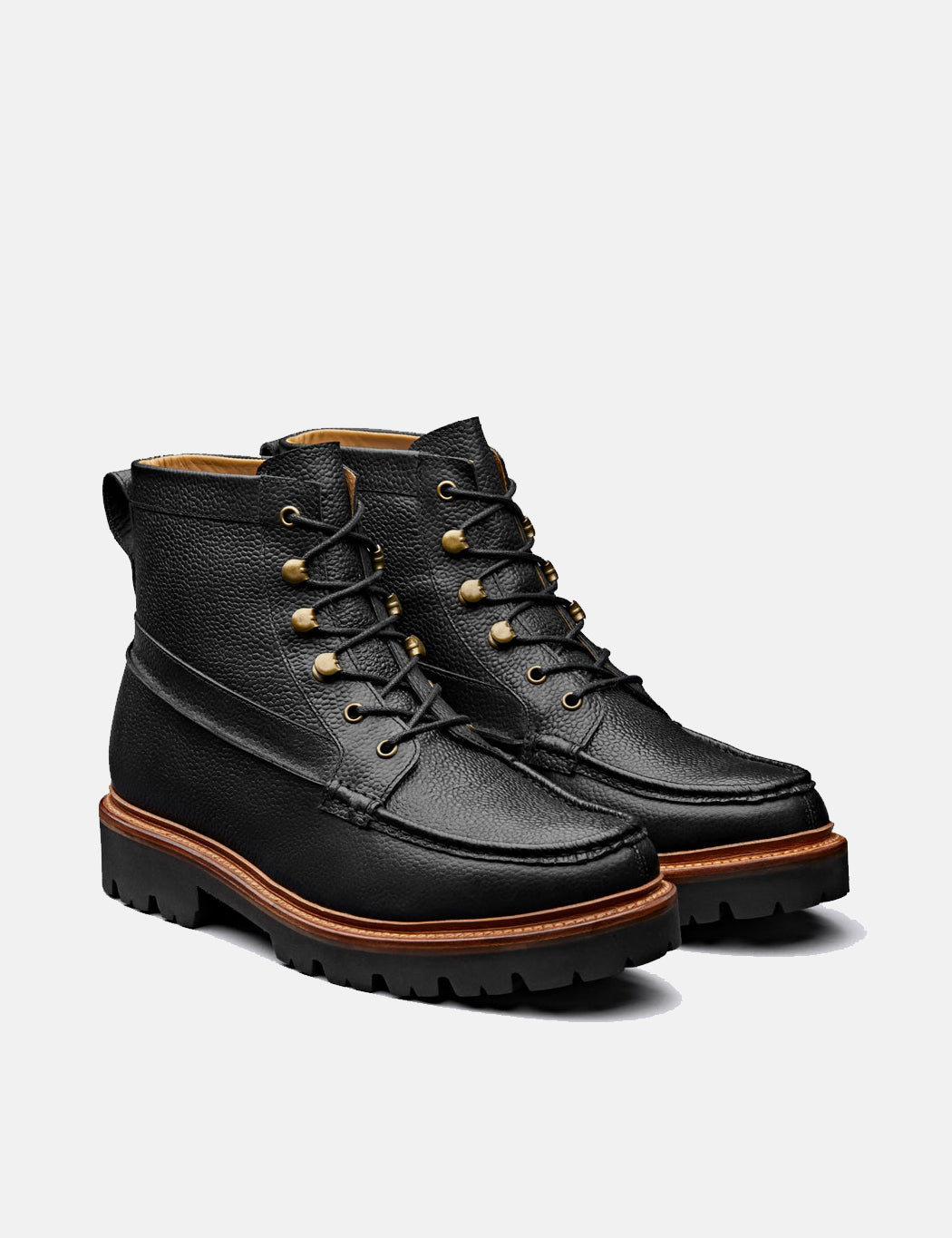 Grenson Rocco Boot (Leather) - Black   URBAN EXCESS.