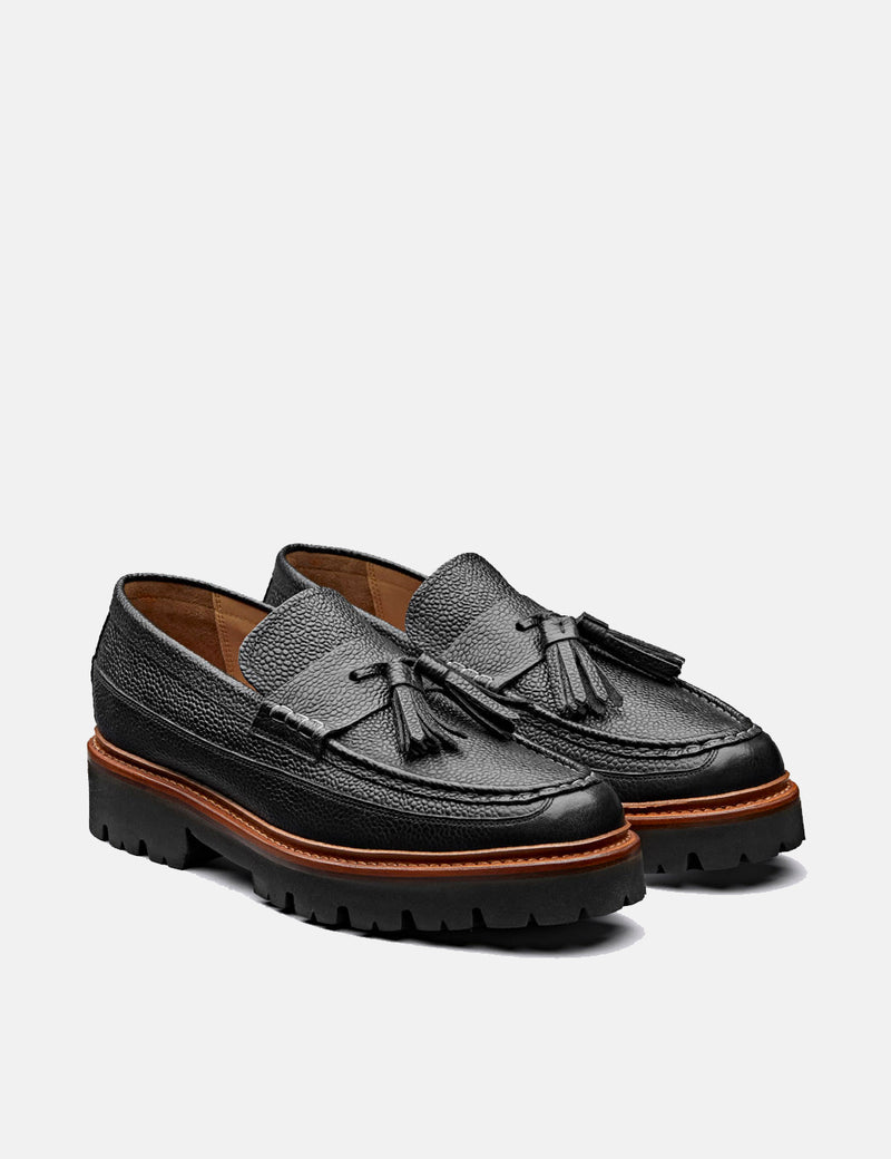 Grenson Booker Loafer 112636 (Leather) - Black