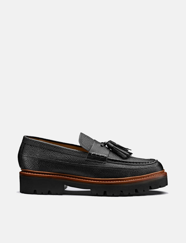 Grenson Booker Loafer 112636 (Cuir) - Noir