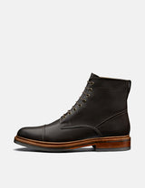 Grenson Joseph Boot (Aniline Leather) - Espresso
