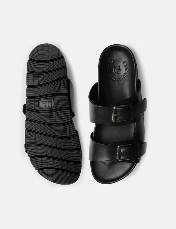 Grenson Florin Sandal (Leather) - Black