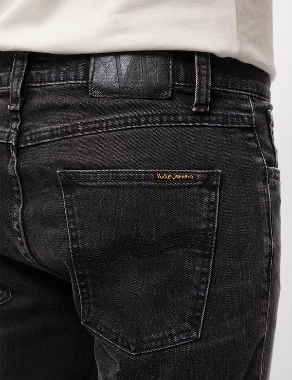 Jean Nudie Lean Dean (Slim Tapered) - Nightrider