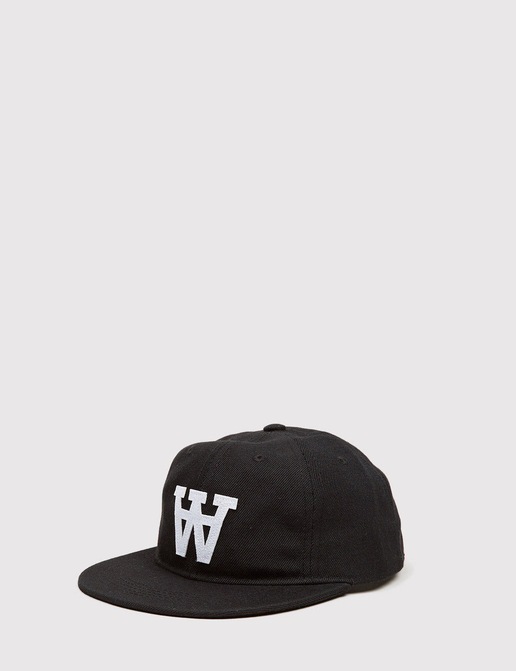 Wood Wood Baseball Cap - Black