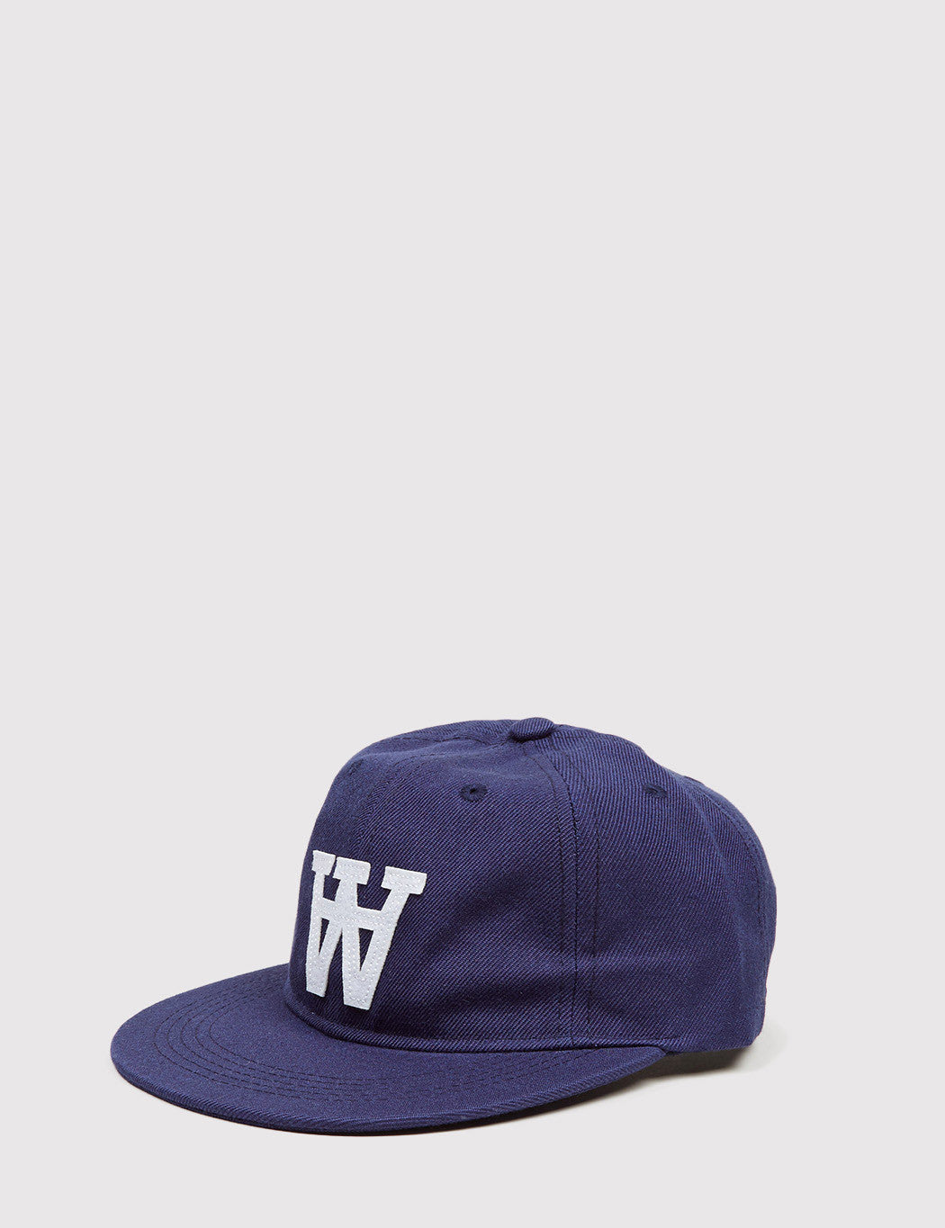 Wood Wood Baseball Cap - Navy
