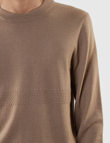 Wood Wood Leon Knit Jumper - Tan