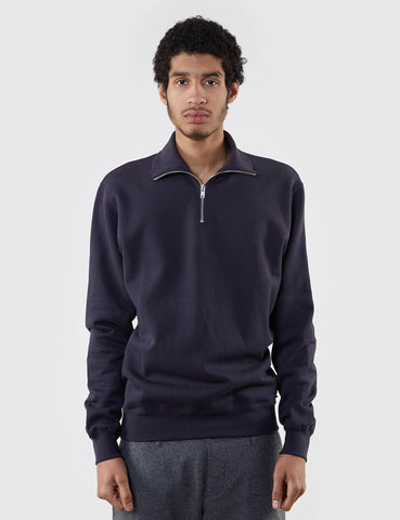 Wood Wood Stanley Knit Jumper - Dark Navy