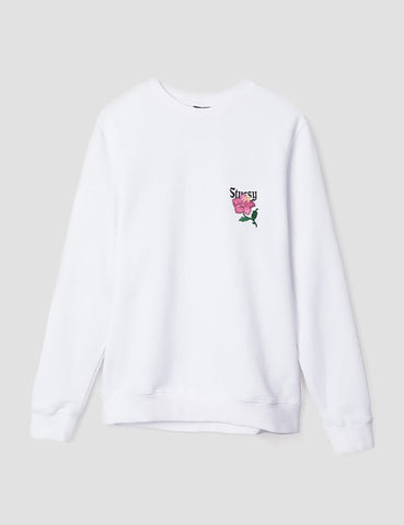 Stussy California Applique Sweatshirt - White