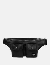 Wood Wood Gray Bumbag - Black