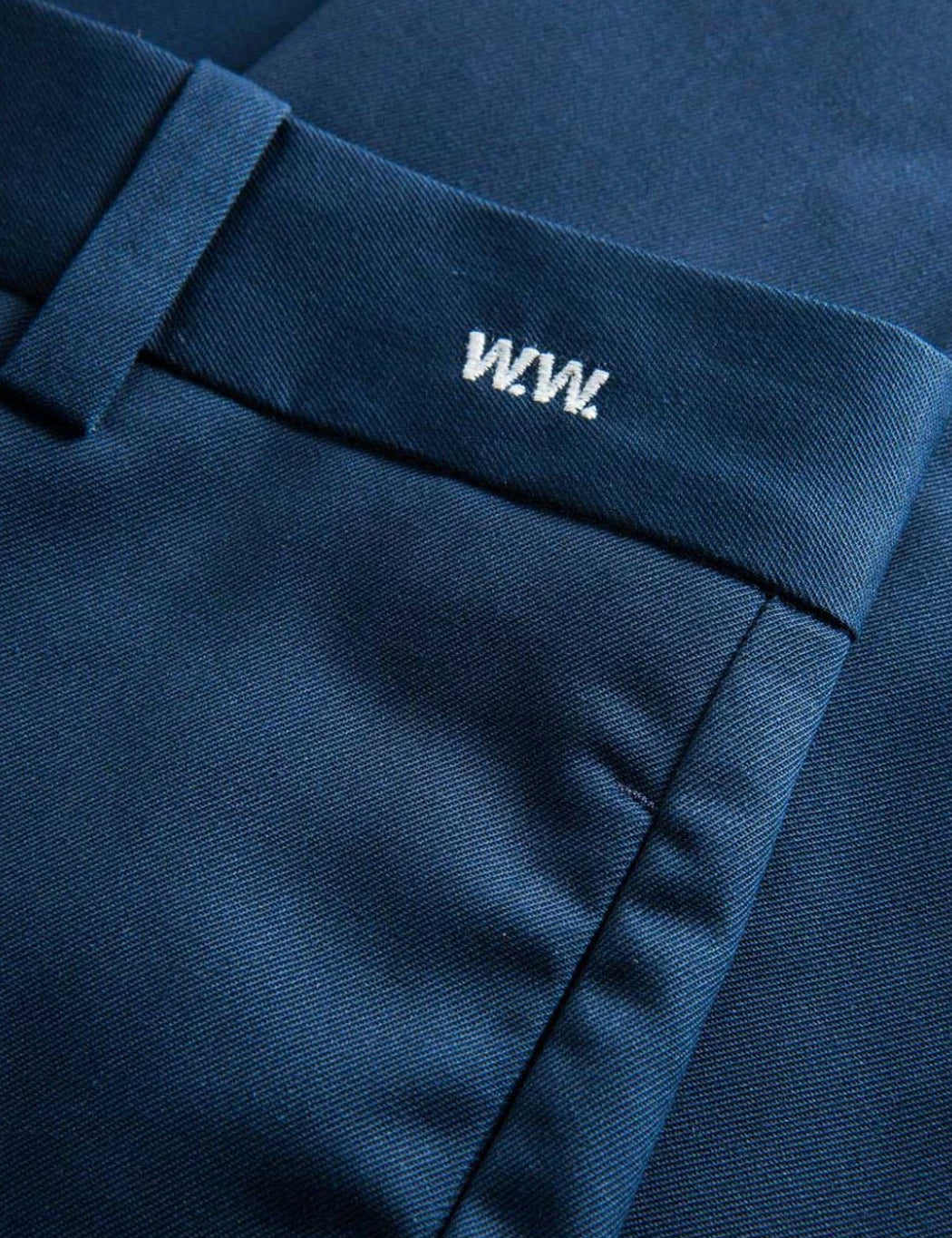Wood Wood Tristan Trousers - Navy Blue