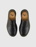 Dr Martens 1461 Shoes (11838002) - Black Smooth/Yellow Welt Stiching