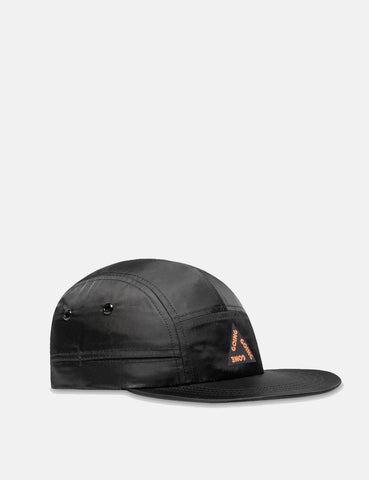 Wood Wood Movement Cap - Black