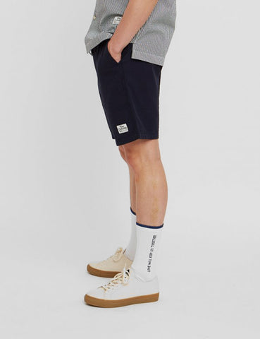 Wood Wood Baltazar Shorts - Navy Blue
