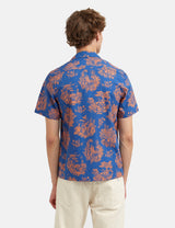Wood Wood Brandon Shirt - Tourist Blue