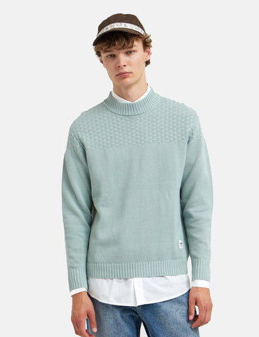 Wood Wood Ernest Sweatshirt - Mint Green