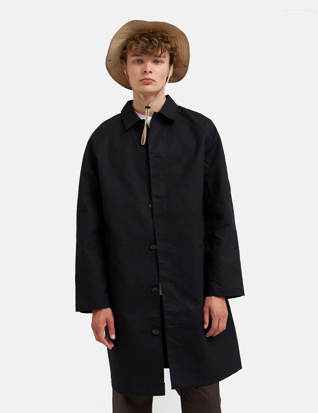 Wood Wood Roald Coat - Black | URBAN EXCESS.