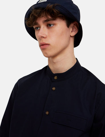 Wood Wood Alvaro Shirt - Navy Blue