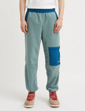 Wood Wood Sigurd Fleece Pants - Turquoise