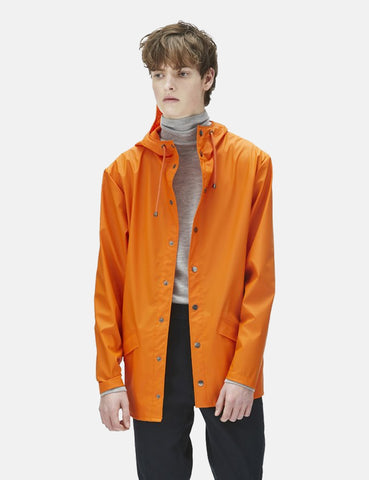 Rains Jacket - Fire Orange