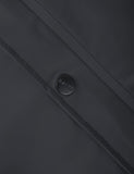 Rains Long Jacket - Black
