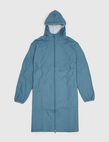 Rains Base Long Jacket - Pacific Blue