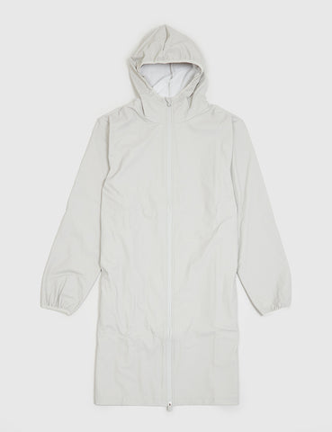 Rains Base Long Jacket - Moon Grey
