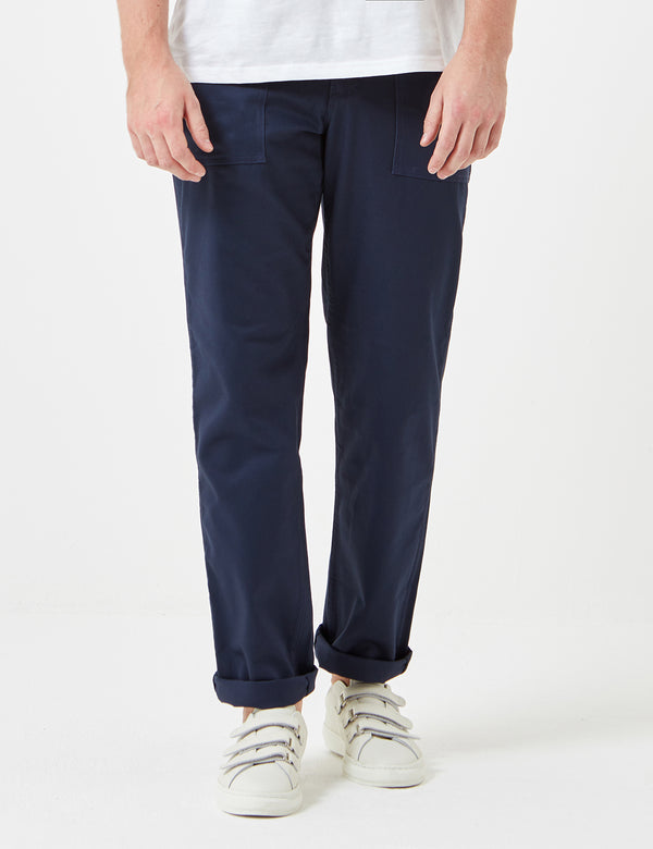 Stan Ray 4 Pocket Fatigue Pant (Loose Taper) - Navy Twill