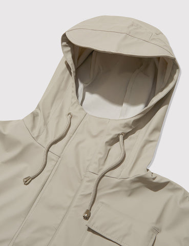 Rains Camp Anorak Jacket - Moon Grey