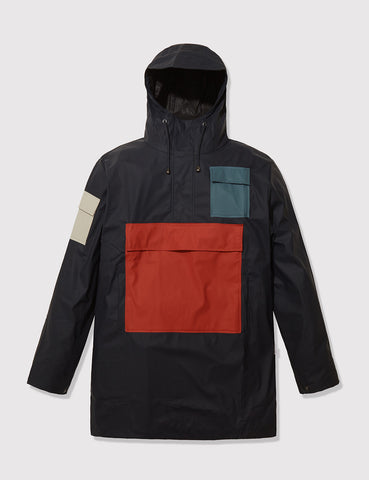 Rains Camp Anorak Jacket - Blue