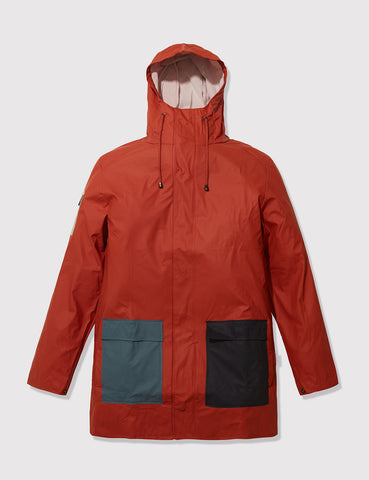 Rains Camp Jacket - Rust