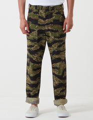 Stan Ray 4 Pocket Fatigue Pant (Loose Taper) - Tiger Green