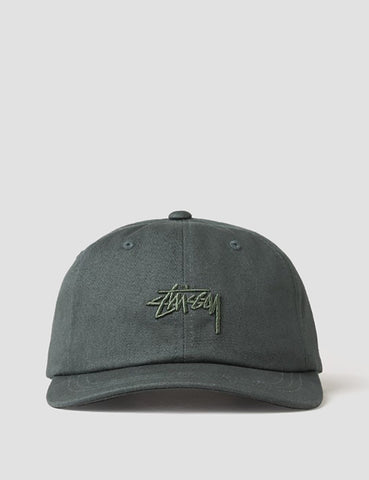 Stussy Tonal Stock Low Cap - Green